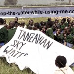 STOP THE WATER in Tansania