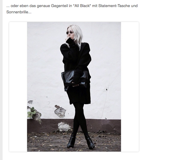 Glamour Online, Feature, Style, Look, Blog, stryleTZ