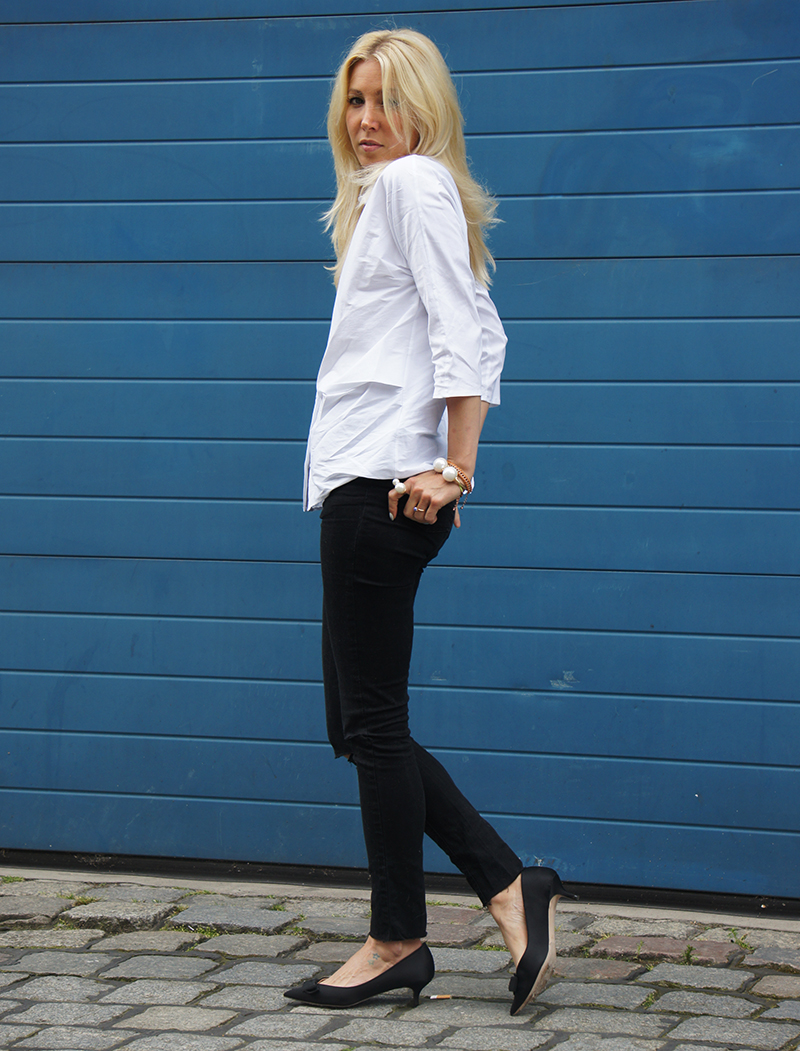 Outfit-Post: Weisse Bluse - stryleTZ