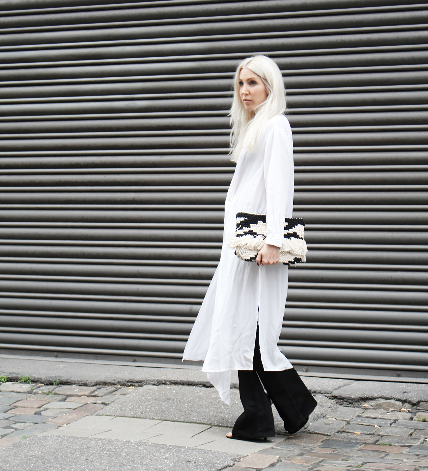 Selfnation Flared Pants Longblouse Hm Monochrome Look Style Outfit Ootd Fashion Blog Stryletz 04