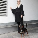 Flared, Eight Slate, All Black, Selfnation, Edited Maja Wyh, Black, Minimal, Design, Halfbun, ootd, Outfit, Style, Look, lotd, Summer, Fashion, Blog, stryleTZ