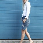 Bluse, Rails, Jeansrock, Birkenstock, Ananas, Pineapple, Look, lotd, casual, Style, ootd, Outfit, Blog, Fashion, Summer, stryleTZ