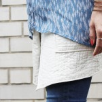 Blue, Layering, Ganni, Wickelrock, Isabel Marant, Zara, Denim, Jeans, Snake, Look. lotd, ootd, Outfit, Style, Summer, Fashion, Inspiration, Blog, stryleTZ