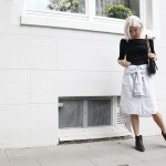 Shirt-Skirt, Rika, ootd, lotd, Look, Outfit, Style, Streetstyle, Love Moschino, Off Shoulder, & Other Stories, Asos, Boots, Fashion, Blog, stryleTZ