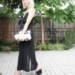 Weekday Dress, Black, Outfit, ootd, lotd, Look, Style, Wedges, Mango, Clutch, Bloggerstyle, Blog, stryleTZ