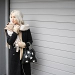 Last Minute Shopping, Look, lotd, ootd, Outfit, Style, Stylediary, Acne, Jansen, Skinny Jeans, Missguided, Stella McCartney, Asos, Assenonme, Scarf, Paisie, Knit, Beige, Black, Nude, Bloggerstyle, Stylediary, Fashion, Blog, stryleTZ