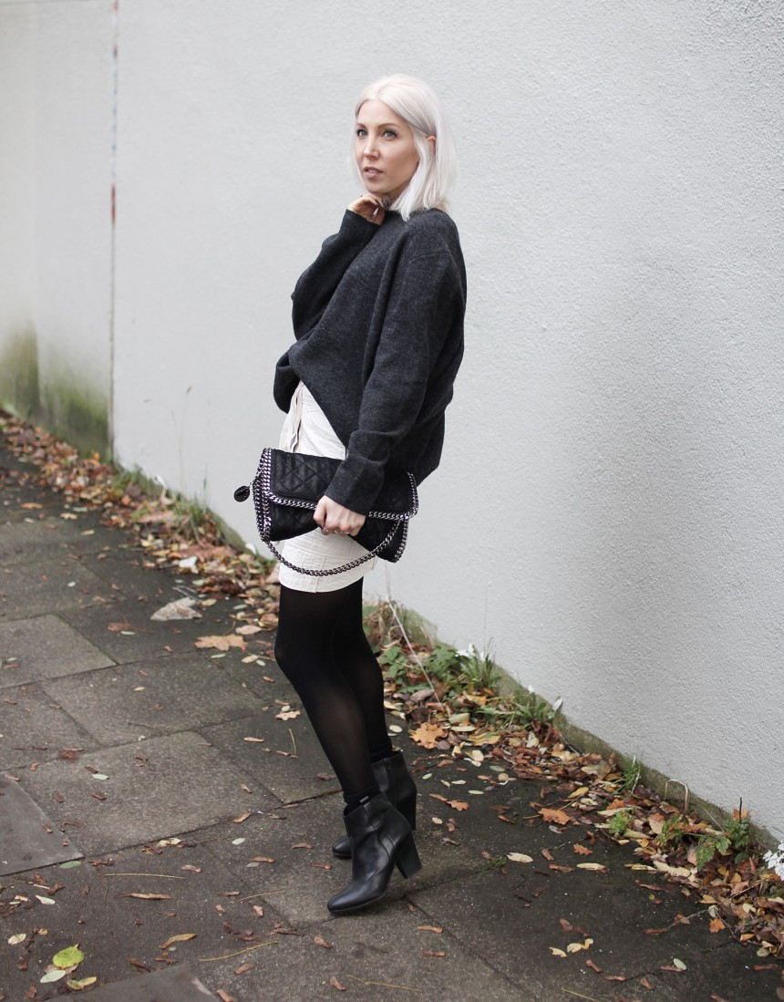 Tights, ITEM m6, Strumpfhose, Rock, Skirt, Isabel Marant, Asos, Knit, Cos, Stella McCartney, By BLANCH, Winter, Look, lotd, ootd, Outfit, Style, Streetstyle, Fashion, Blog, stryleTZ