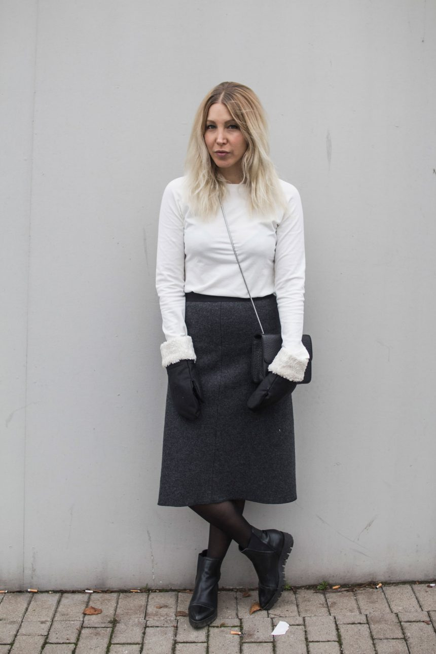 Weihnachtslook, Maria Seifert, Fair Fashion, Designer, made in Germany, minimal, vegan, Noveaux, Bibi Lou, Save the Duck, Denise Roobol, ootd, lotd, Look, Outfit, Streetstyle, Business, Winter, Inspiration, Fashion, Blog, stryleTZ
